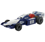 Formula 1 blue car