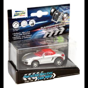 Porsche Boxster 981 Cabriolet silver