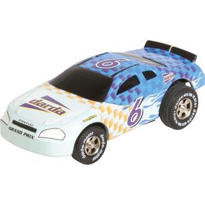 Pontiac blue stock car